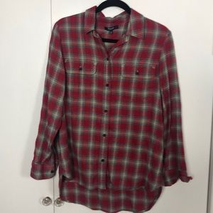 Madewell m flannel